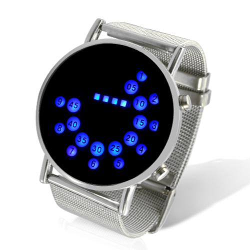 5849fadb5ba Dámské LED hodinky s modrým displejem Široký výběr LED hodinek a ...