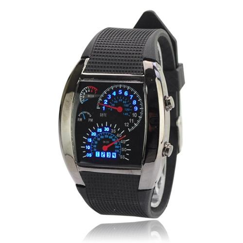 e885b89c5a6 Sportovní LED hodinky Motor Racing LED TVG Široký výběr LED hodinek ...