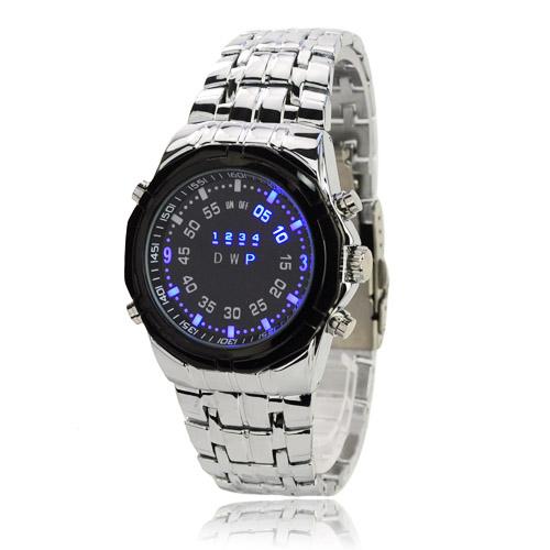 e9a9a83c3b6 celokovové pánské LED hodinky TVG Široký výběr LED hodinek a ...