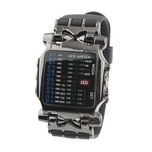 90b8d35f243 Binární LED hodinky cyber Široký výběr LED hodinek a binárních ...