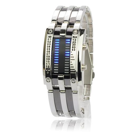 Pánské LED hodinky chirurgická ocel Široký výběr LED hodinek a ... 21433882b1
