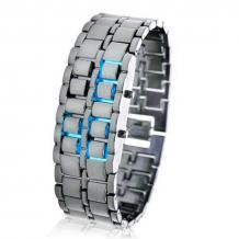 LED hodinky Iron...